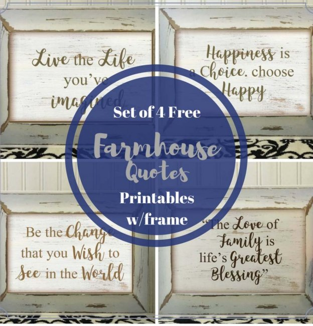 Farmhouse Decor Quotes Plaque Tutorial
