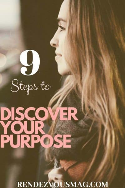 discover your purpose pin