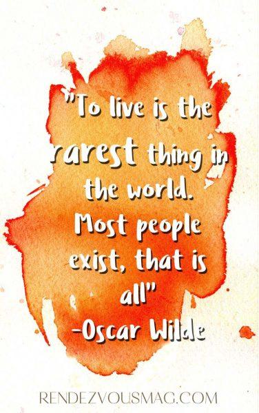 oscar wilde inspirational quote photo