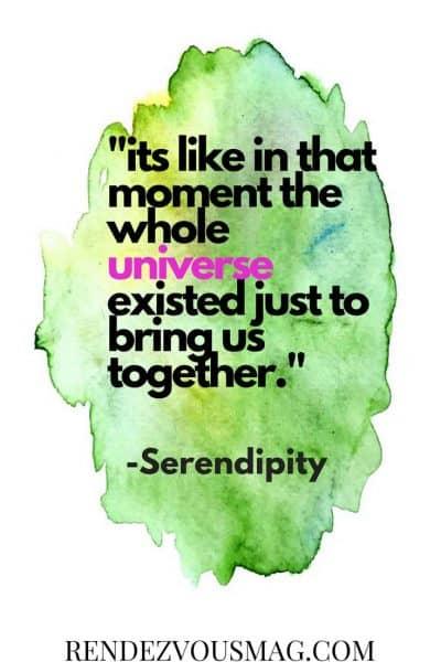 serendipity love quote