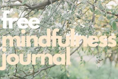 mindfulness journal image
