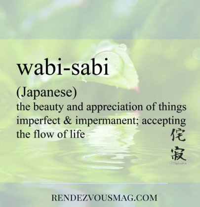 Wabi-Sabi -Foreign words with Beautiful Meanings