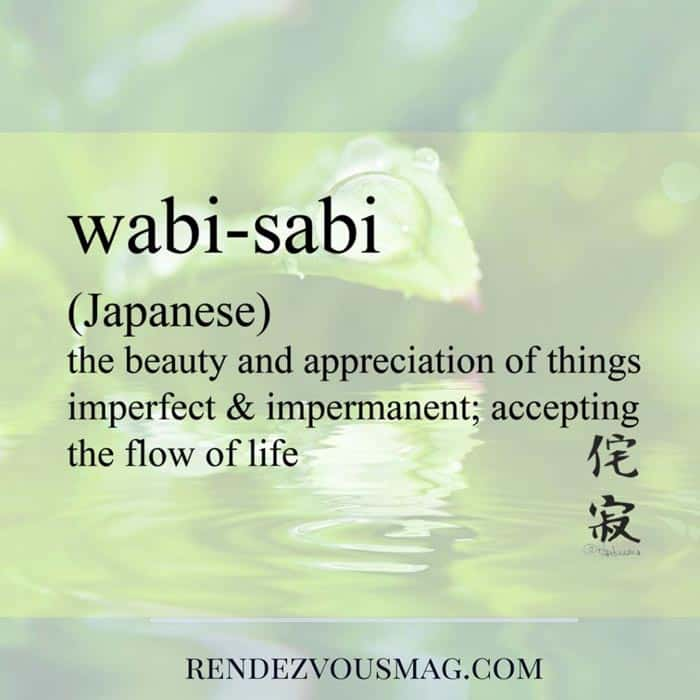 wabi sabi foreign words beautiful meanings