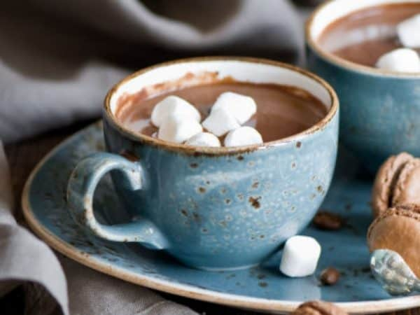 Hot Cocoa /raspberry vodka