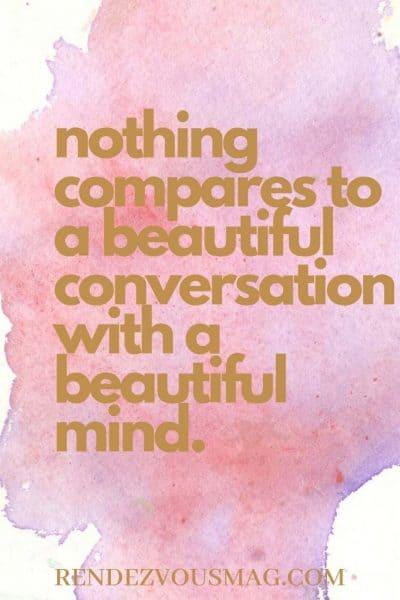 conversation quote