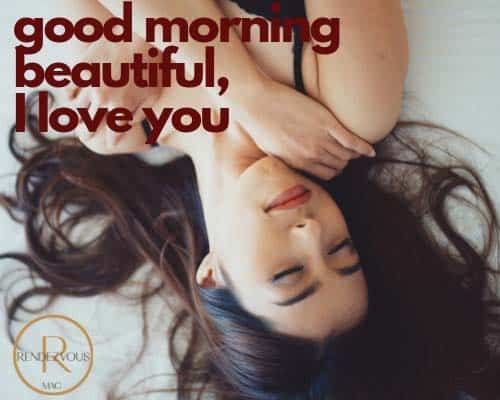 good morning messages for love picture