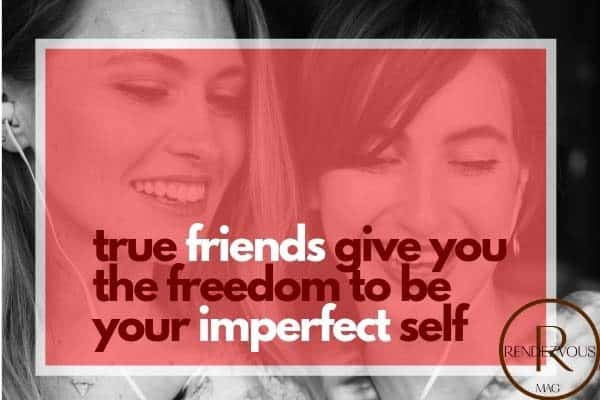 friendship goals quote pic