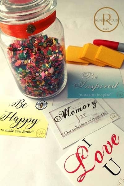 happy jar DIY tutorial