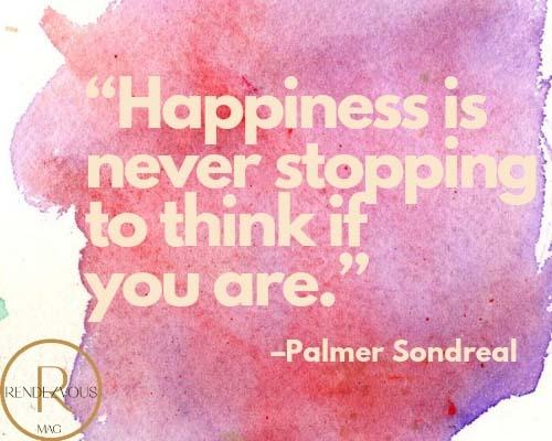 happy life quote pic