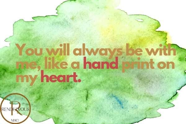 missing you quotes hand heart pic