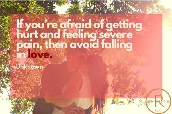 being in love quote photo