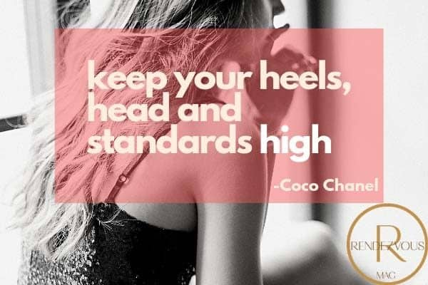 coco chanel quote photo