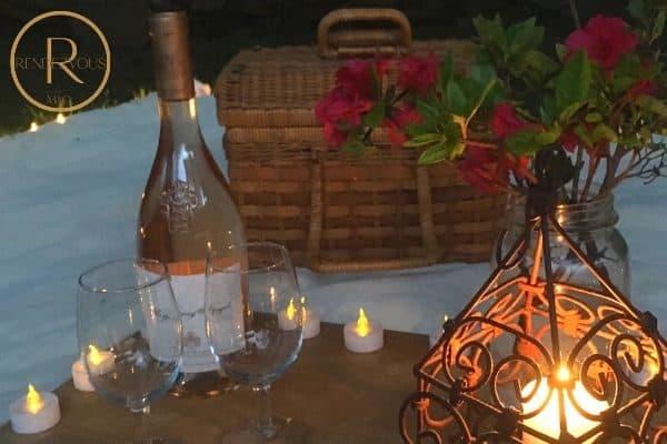 Picnic Date Night Photo