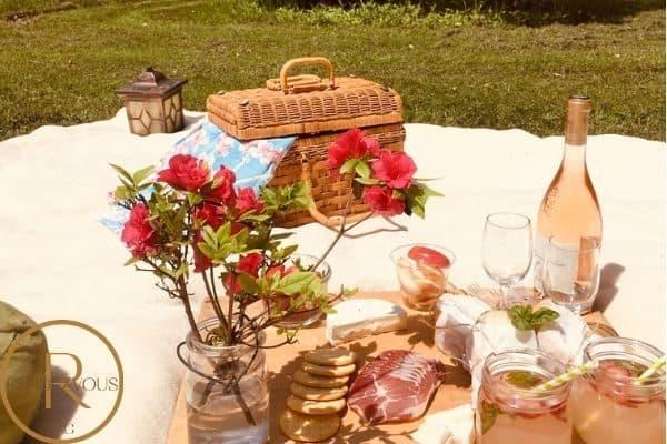 picnic date photo