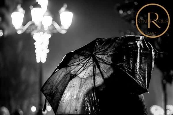 rainy date night