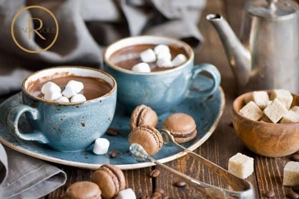 fondue date night hot cocoa  photo