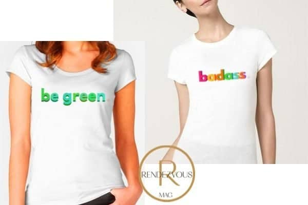 be green t shirt, badass tee shirt, Empowering gifts for the strong and badass women in your life