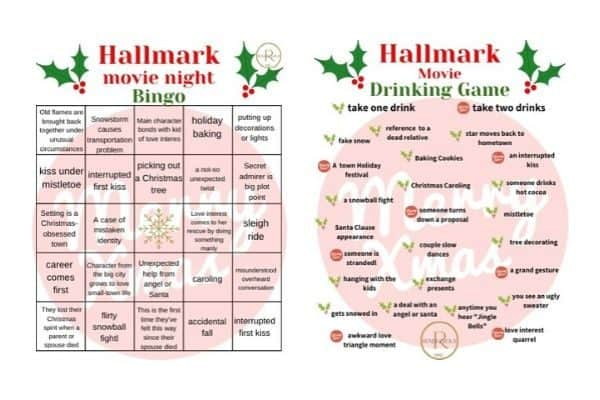 hallmark bingo & hallmark drinking download