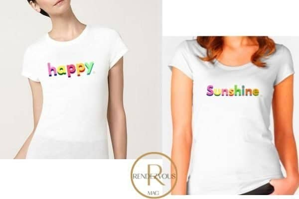 happy tee shirt design & sunshine tee shirt design,Empowering gifts for the strong and badass women in your life