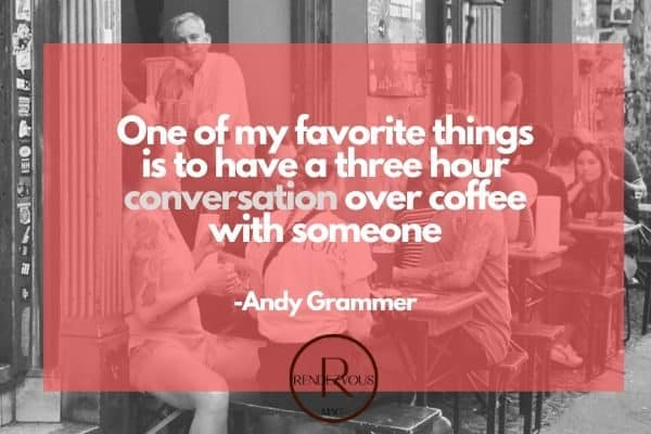one of my favorite things- conversation quotes