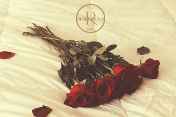 romantic date night roses
