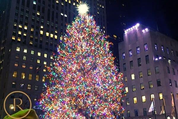 Winter date ideas- Rockefeller Center Tree NYC