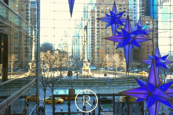 Winter date ideas- Columbus Circle NYC