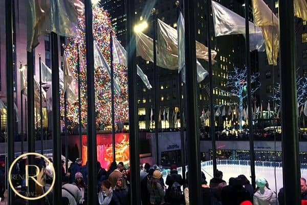 Winter date ideas- Rockefeller Center NYC