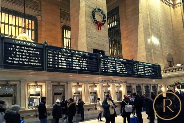 Winter date ideas- Grand Central Station NYC