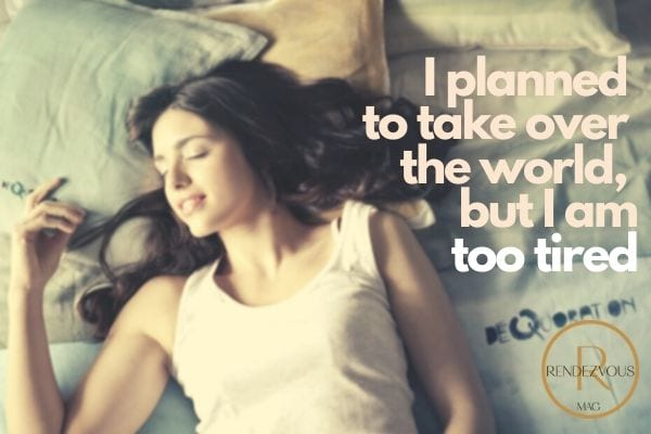 I planned to take over the world, but I am too tired - good night image