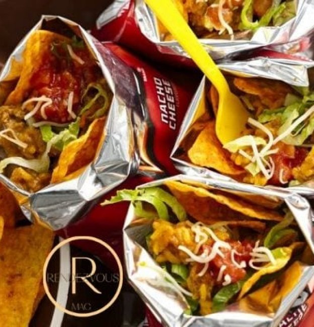 Walking Taco Bar that is Perfect for Game Day