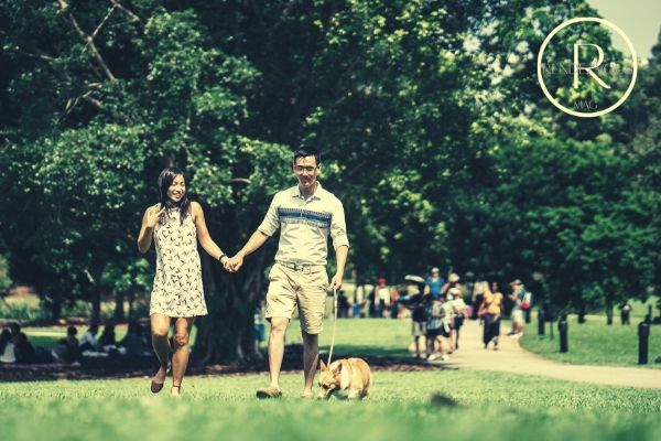 ideas for day dates- walking in the park