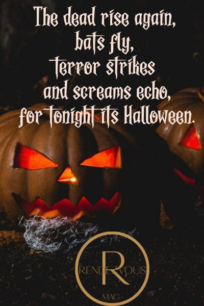 dead rise, terror -Halloween quotes