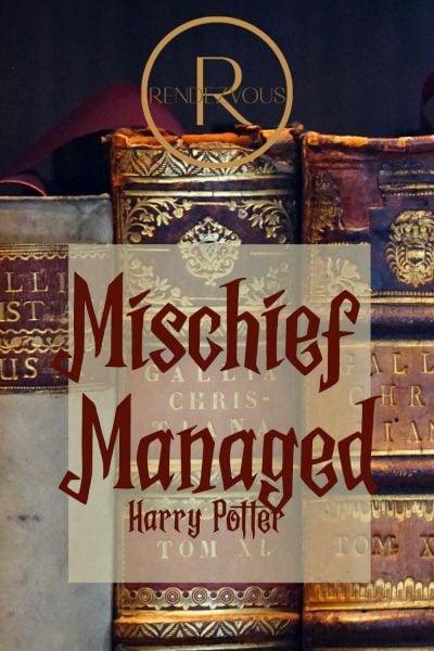 mischief managed- halloween sayings