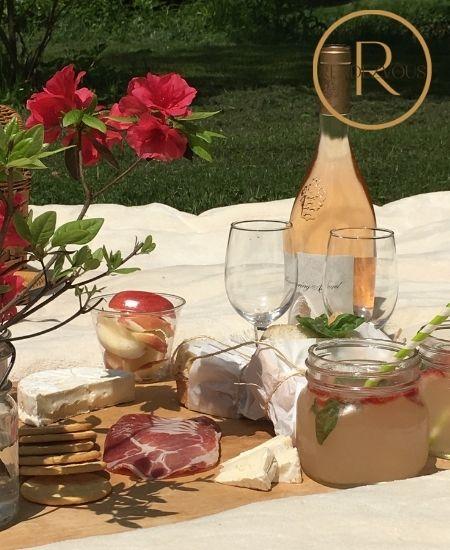 romantic picnic to show love