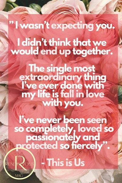 cute love quote for him- this is us